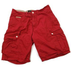 Privileged Life Men's Cargo Shorts Red